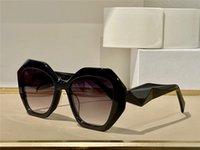 Солнцезащитные очки для мужчин и женщин летний стиль анти-ультрафиолетовый 16W-S ретро нерегулярная пластина полная рамка модный очки случайная коробка