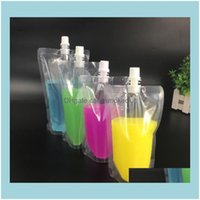 Other Drinkware Kitchen, Dining Bar Home & Garden100Ml 200Ml 250Ml 300Ml 500Ml Stand-Up Plastic Drink Packaging Bag Spout Pouch For Beverage