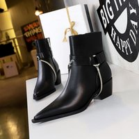 Star Trail Ankle Boot Luxury Womens Designer Chunky Heel Ankle Boots Luxury Designe Martin Boots Ladys Fashion Winter Booties 5.5cm
