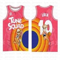 Espace confiture 2 bugs de jersey de basketball bugs! James Taz 1/3 Tweety Tunes Squad 10 Lola LeBron 23 Michael 22 Bill Murray X1 Hommes KDIS X6