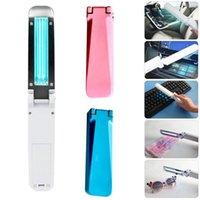 Pieghevole lampada di disinfezione UVC portatile portatile Sterilizzatore UV luce ultravioletta ozono luce germicida batteria USB potenza per home hotel