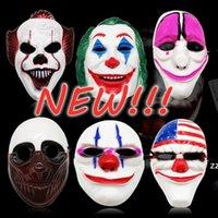 새로운!!! 무서운 광대 마스크 할로윈 코스프레 공포 유령 가장 무도회 의상 마스크 13 스타일 HWE9188