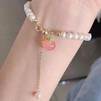 Bangle Freshwater Pearl Peach Bracelet Women Bracelets Jewelry