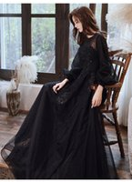 freeship black lantern sleeve beading embroidery theme costume Medieval Renaissance  Sissi princess dress Victorian Gothic Marie Belle Ball gown