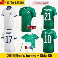 20 21 Irlanda do Norte Jerseys de futebol McNair 2021 Washington Davis Camisa de futebol Magennis Jones Lafferty Mens Jersey Kids Kit