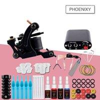 Máquinas de tatuaje Juego de caja 4/6/10/20 PCS Inmortal Color Tintas Suministros Accesorios Accesorios Kits completados Kit de maquillaje permanente1