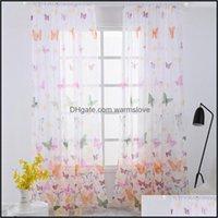 실내 Tle Curtain 거실 투명한 현대적인 Valances 창 Drapes 침실 유리 원사 패브릭 다른 가정 장식
