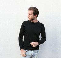 Mens Sweater Trend Pattern Embroidery Shirts Autumn Spring Wear Tops Wool Sweatshirts Asian Size M-3XL JumpersSweater