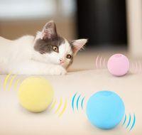 Divertente Giocattoli Cat Interactive Giocattoli Smart Touch Sound Ball Catnip Pet Training Forniture Simulazione Squeaker Prodotti giocattolo per gatti