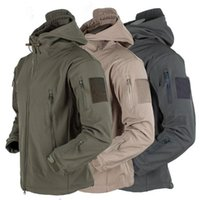 Men's Jackets Male Jacket Outdoor Soft Shell Fleece And Women's Windproof Waterproof Breathable Thermal Three In One Youth Hooded