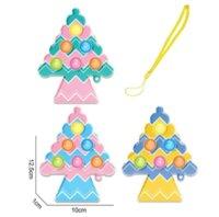 Tryck det träd fidget leksaker fingerbubbla press relief fingertopp leksak stress pedagogiska barn baby gåva gyq