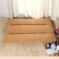 Kennels & Pens 120 X 80 12 Cm Warm Pet Basket Cozy Kitten Lounger Cushion Cat House Tent Very Soft Dog Mat Bag For Washable Cave Cats Beds G