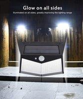 300 LED Solar Motion Sensor Wall Light Outdoor Waterproof Yard Security Lamp LED Solar Light for Outdoor Garden Street Patio