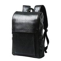 Backpack Korean Outdoor Student Schoolbag Casual Men Laptop Bag Fashion 2021 Mochila Masculina Couro Luxo Impermeavel Notebook
