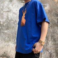Kanye West Polos Summer High-Street Mens T 셔츠 대형 티 스케이트 보드 Tshirt 남성 여성 예수님의 레이디 티셔츠 고품질 탑스 짧은 소매