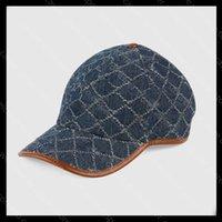 Luxurys 디자이너 모자 모자 와이드 브림 야구 모자 보닛 망 격자 무늬 데님 디자이너 양동이 모자 비니 레터 인쇄 만화 casquette