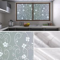 2 5M Self- adhesive Frosted Window Privacy Sticker Pastepaper...