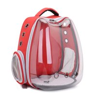 Katzenträger, Kisten Häuser Reine Farbe Ohr Pet Bag Portable Space Transparent Rucksack Hundebedarf Handtaschen