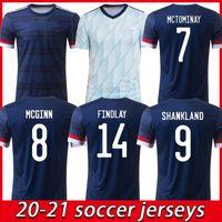 20 21 Scotland Soccer Jerseys 2021 Robertson Fraser Camicia da calcio Naismith McGregor Christie Forrest McGinn Men Kit Uniformi