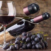 قابلة لإعادة الاستخدام فراغ الأحمر زجاجة النبيذ كاب سدادة سيليكون مختومة الشمبانيا النبيذ زجاجة سدادة فراغ الاحتفاظ نضارة التوصيل شريط أدوات EWF5805