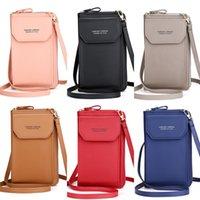 CarrKen Pu Phone Women Cell Purse For Bag Crossbody Wallet Idjel