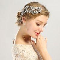 Hair Clips & Barrettes Handmade Crystals Rhinestones Vine Copper Wire Tree Branch Shape Wedding Headpieces Bridal Headband Accessories