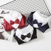 Одежда для собак для собак мода джентльмен рубашка смокинг для средних маленьких собак чихуахуа Teddy Cat Blouse аксессуары одежды