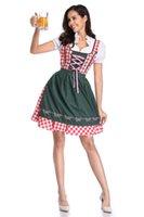 Casual Dresses Oktoberfest Dress Women's German Dirndl Costumes For Bavarian Carnival Halloween