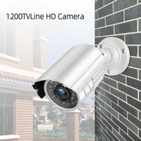 JeaTone 1 3 Cmos 1200TVL Cctv Analog Surveillance Camera With 3.6mm Waterproof Security IP Cameras