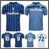 20 21 Atalanta BC Futebol Jerseys Muriel Gomez 2021 Duvan Gosens Camisa de Futebol Ilicic Pasalic Miranchek Lammers Homens Kit Uniforme
