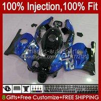 Injection de Honda CBR 250R 250R CBR250 CC 90 91 92 99 94 95 96 97 98 99 111HC.221 CBR250RR MC22 CBR 250CC 1990 1991 1992 1993 1997 1998 1999 Farécages Bleu Glossy