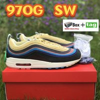 Classic SW 97OG con caja Sean Wotherspoon zapatos de correr vívido azufre multi amarillo azul híbrido moda corredor hombres mujeres zapatillas zapatillas zapatillas 36-45