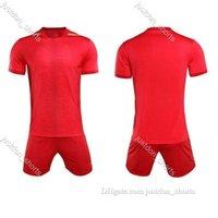 Football uniform men soccer Jersey training suits children printing team uniforms custom short-sleeved jerseys