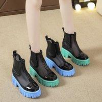 Botas plataforma zapatos deportes mujer botas-mujeres cremallera diseño de lujo 2021 lolita damas obstruinos mid becerro sandalias cuña verano elegante ro