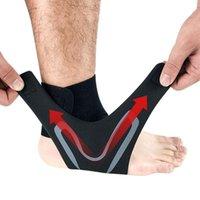Поддержка лодыжки Loogdeel 1 шт. Плевая левая нога протектор спортивные эластичные скобки