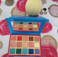 المخزون الشهير Lila Sunset Palette Denona الكالونيات ماء ماتي عينيه 15 ألوان العين ظلال لوحة