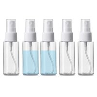 30ml 1oz Empty Clear Spray Bottle Portable Refillable Fine Mist Bottles Perfume Atomizer Container for Cleaning and Travel