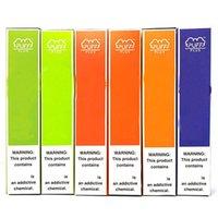 퍼프 플러스 일회용 포드 장치 전자 담배 800puffs 미리 채워진 포드 550mAh 배터리 기화기 E Cigs Starter Kit Bars 보안 코드