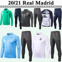 20 21 Tehlike Eğitim Takım Futbol Formaları Gerçek Madrid Sergiio Ramos Kroos Mens Eşofman Kiti Futbol Gömlek Benzema Marcelo Isco Pantolon