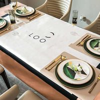 Table de table Couleur rectangulaire rectangulaire rectangulaire juvénile matières imprimées en cristal de nappe imprimée