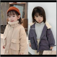 Coat Outwear Baby, & Maternity Drop Delivery 2021 Winter Childrens Clothing For Boys Girls Baby Thicken Top Jacket Toddler Kids Clothes Coat1