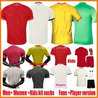 2021 2022 축구 유니폼 팬 플레이어 버전 남성 여성 키즈 20 22 22 클럽 축구 셔츠 2021-22 Ladys 저지 어린이 Camisa de Futebol 빈 Camiseta 유니폼 키트