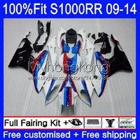 Injection Mold Fairings For BMW S 1000RR S1000-RR S1000RR 09 10 11 12 13 14 Bodywork 1No.16 S 1000 RR S1000 RR 2009 2010 2011 2012 2013 2014 OEM Bodys Blue black red kit