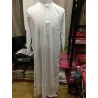 이슬람 패션 남자 이슬람 의류 KAFTAN 중동 ABAYA 사우디 아랍어 파키스탄 THOBE 긴 가운 가운 쥬바 라마단 민족