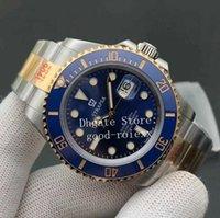 Homens relógios de pulso 41mm mens cerâmica v11 versão automática cal.3235 assistir 904L ouro ouro 126613lb mergulho glidelock fecho homens eta noobf fábrica n 126613 marca de luxo