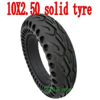 Motorcycle Wheels & Tires 10 Inch Hollow Solid Tyre For M365 Pro Electric Scooter Non-Pneumatic Anti-puncture Non-slip Wheel Scooters Parts