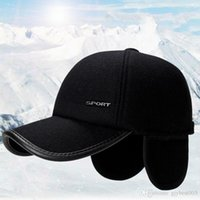 2020 best Shade Autumn and winter men's and women's warm hat casual warm earmuffs hat fashion outdoor sports baseball cap