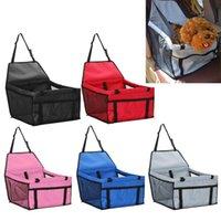 Kennels & Pens Portable Pet Dog Car Safe Seat Hanging Mesh Bag Folding Waterproof Cat Puppy Holder Pad Mat Travel Accessories Handbag