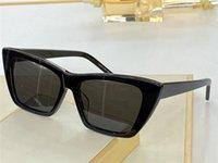 276 Moda Güneş Gözlüğü Yaz Kedi Göz Stil Degrade Lens UV 400 Koruma Kadınlar Için Vintage Kare Tahta Çerçeve En Kaliteli Klasik Eyeglasse Ile Gel