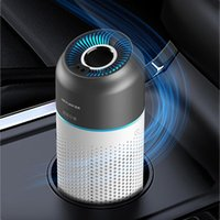 Air Purifiers Purifier For Home HEPA Filters USB Rechargeble Low Noise Portable Car Auto Freshener Humidifier With Night Light Desktop